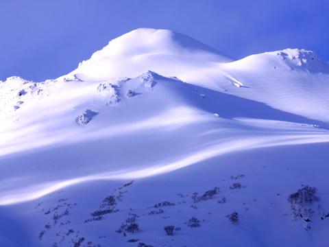岩木山百沢スキー場 山の様子