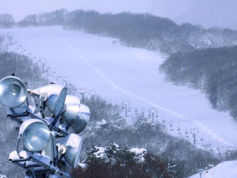 岩木山百沢スキー場 ゲレンデ