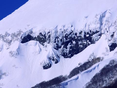 岩木山百沢スキー場 雪肌