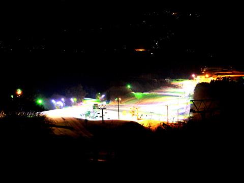 百沢スキー場 ナイター営業
