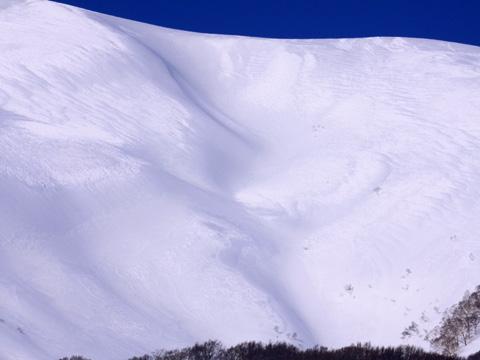 岩木山百沢スキー場の雪