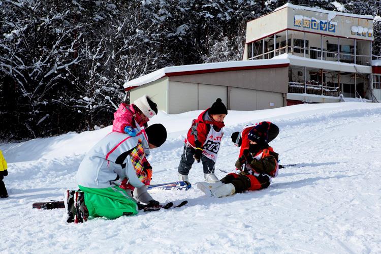 遊びながら学べるスキー